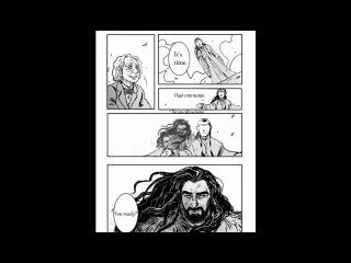 Thorin/Bilbo (по мотиву комикса)